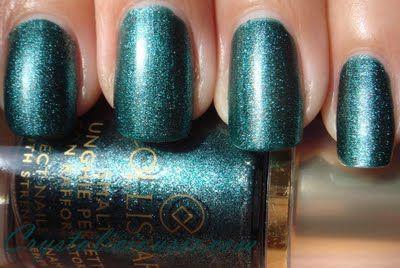 Collistar Perfect Nails Enamel No 69, Green Lame - matte