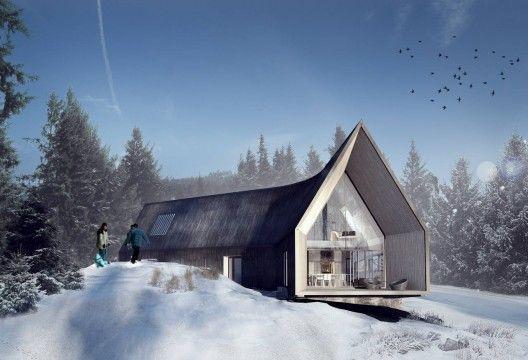 Villa Korsmo / Huus og Heim Arkitektur: Residential Architecture, Modern Cabins, Huusog Heim, Huus Og, Heim Arkitektur, Architecture Inspiration, House, Home Architecture, Villas Korsmo