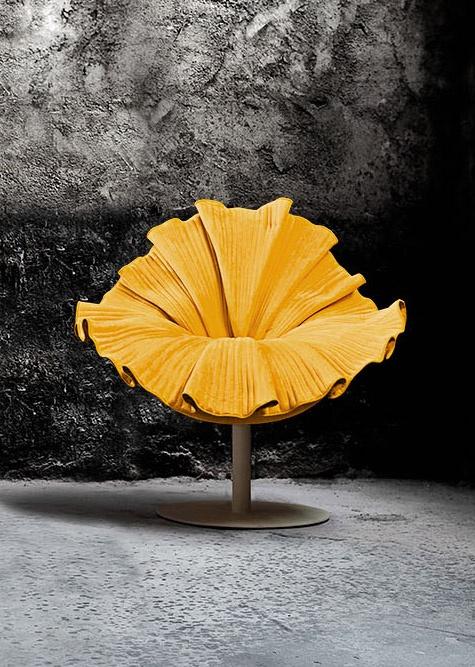 Bloom Lounge Chair designer Kenneth Cobonpue.