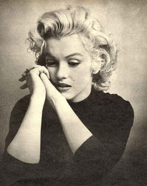 Marilyn Monroe. Classic makeup and hair