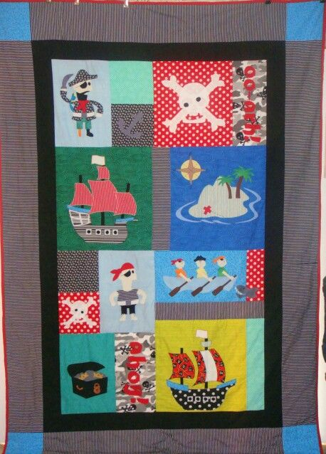 Ethan's quilt.
