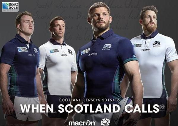 New Scotland Rugby Top 2015