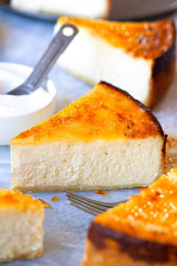 Br�l�ed NYC Cheesecake