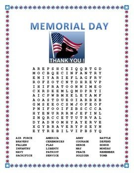memorial day lesson plans preschool