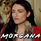 *GIF* Merlin Cast Members Friends Style (MORGANA) Morgana (OR should I say Katie McGrath) has to be one of the quirkiest people I have ever seen, but quirky in the most stunning way possible.