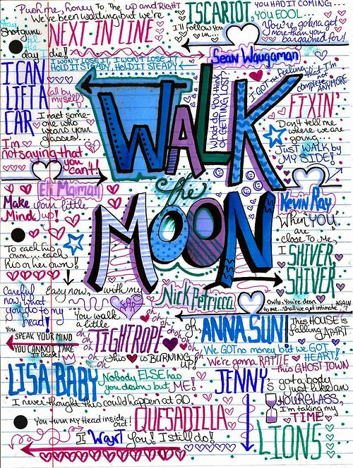 doodle #walkthemoon