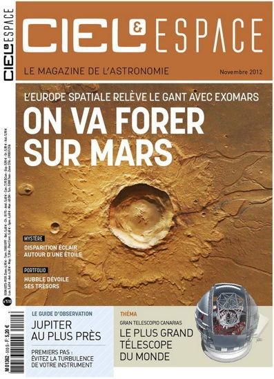 Ciel & Espace N°510 - Novembre 2012...!!!