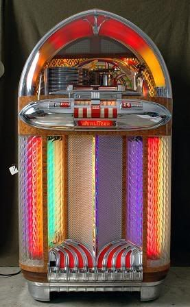 Wurlitzer Jukebox.