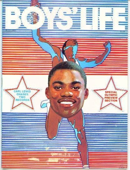 bsa boys' life magazine 1983 carl lewis 1984 summer olympics epcot from $15.99