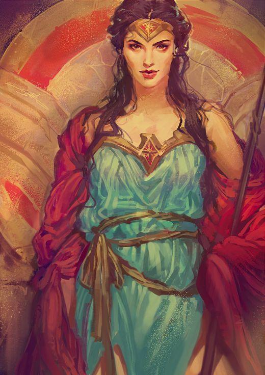 Wonder Woman by mushroomtale