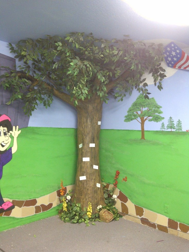 Classroom Ideas Trees : Paper mache tree preschool ideas furniture classroom