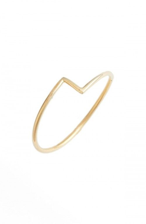 Bony+Levy+Women's+Thin+Zigzag+Stacking+Ring+Nordstrom+Exclusive+|+Jewelry+and+Accessory
