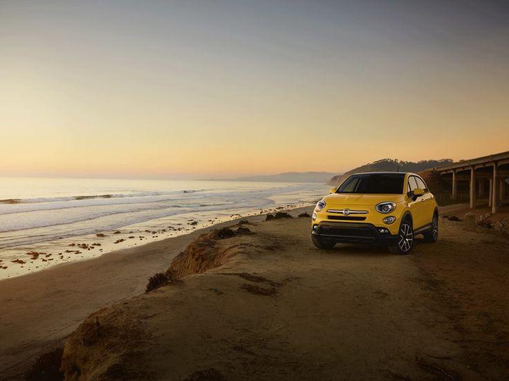 Brak pomysłu na weekend? Zabierz czwórkę swoich znajomych i ruszajcie na spontaniczny wypad za miasto Fiatem 500X!  #Fiat #Fiat500X #crossover