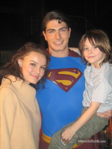 Superman Returns- woow a real picture of them! They look great!