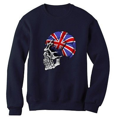 #England flag #skull #sweatshirt world cup soccer football team fan britain jumpe,  View more on the LINK: 	http://www.zeppy.io/product/gb/2/251786493930/
