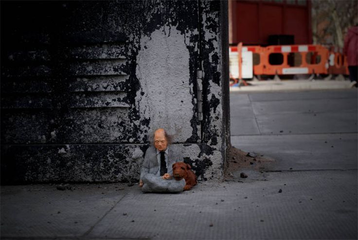 cement miniature sculptures artist isaac cordal (3)Miniatures Sculpture, Street Art, Cement Sculpturesisaac, Minis Sculpture, Streetart Art, Artists Isaac, Sculpturesisaac Cordal, Miniatures Cement, Art Written