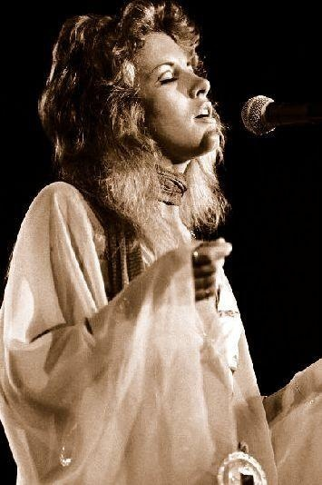 If I could be reincarnated as somebody... Stevie Nicks