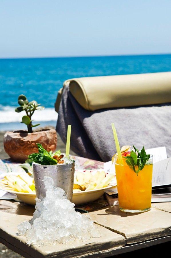 Summer @ the Beach in Santorini