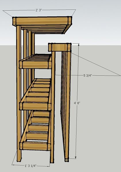 Lumber and Plywood storage