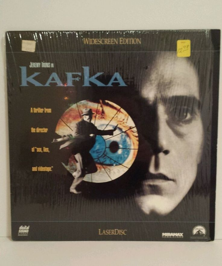 Kafka starring Jeremy Irons Theresa Russell Widescreen B&W/Color LD Laserdisc | DVDs & Movies, Laserdiscs | eBay!