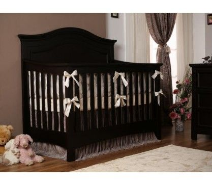 Serena Convertible Crib In Cherry. Baby FurnitureConvertible ...