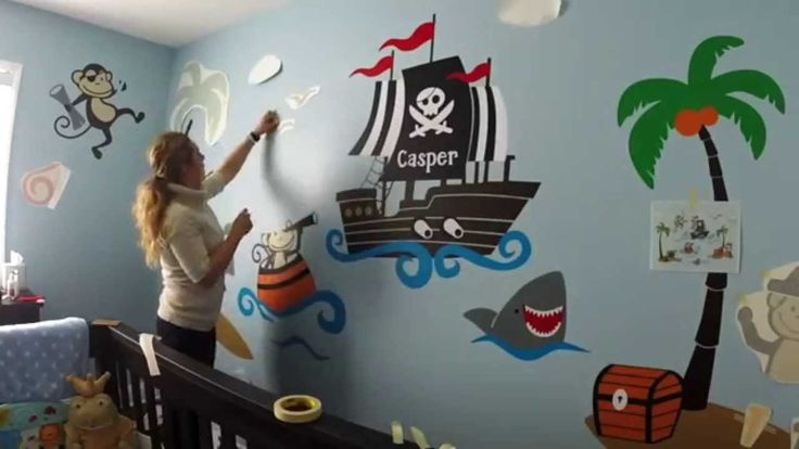 Pirate Baby Room Decor - Best Interior Paint Colors Check more at http://www.chulaniphotography.com/pirate-baby-room-decor/