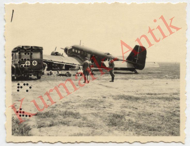 J511 Foto Wehrmacht Russland Ukraine Krim Flugzeug JU52 Sankra PKW Phänomen TOP in Sammeln & Seltenes, Militaria, 1918-1945 | eBay