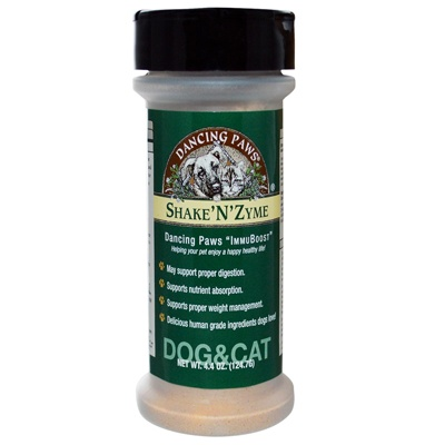Shake N Zyme is the ideal way to deliver daily enzyme supplementation necessary to promote proper digestion and to assimilate nutrients which is the foundation of superior health. contains organic pulse an edible sea vegetable found in the Atlantic Ocean, high in minerals and helps spark enzyme activity.   Wellness Longevity Digestion Pet Nutrient System.