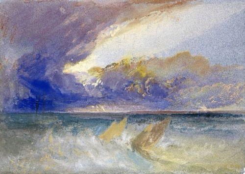 Joseph Mallord William Turner (British, 1775-1851) Sea View, ca. 1826 Drawing National Gallery of Scotland, Edinburgh