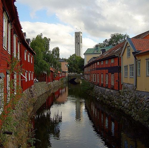 Västerås, Sweden. Our tips for 25 fun things to do in Sweden: http://www.europealacarte.co.uk/blog/2011/10/13/what-to-do-in-sweden/