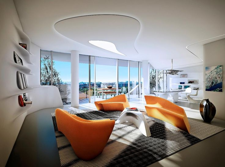 17 best images about sales center on pinterest for Interior design zaha hadid