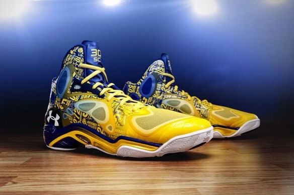 Stephen Curry's Custom Sneakers Will Feature His Season Stats (Picture)