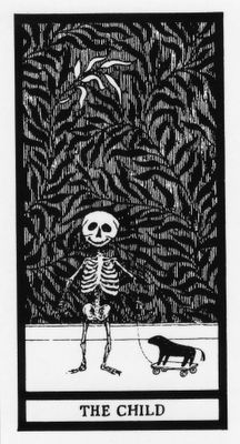 edward gorey. This is one of a set of cards.
