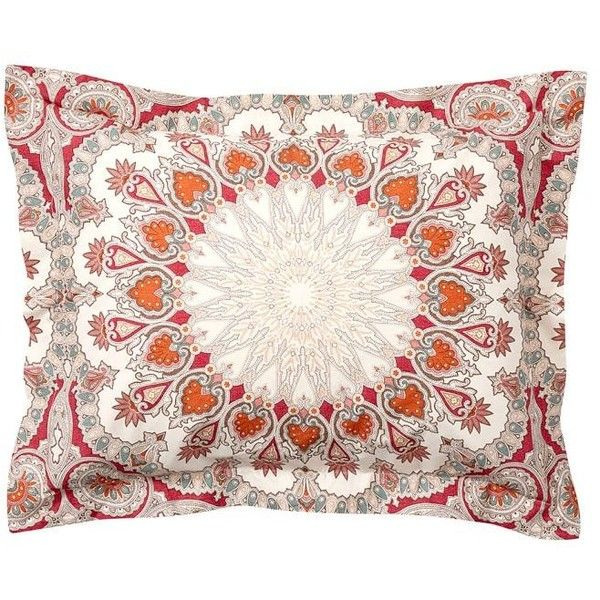 Pottery Barn Valencia Duvet Cover & Sham ($29) ❤ liked on Polyvore featuring home, bed & bath, bedding, bright colored bedding, pottery barn, pottery barn bed linens, pottery barn shams and pottery barn pillow shams