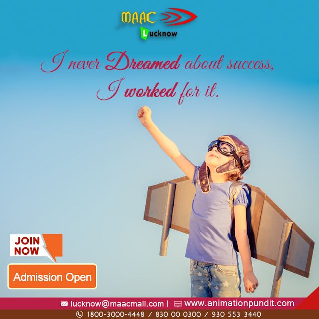 #Animation #Institutes in #Lucknow are the hot favorites among youngsters these days. Creativity is an important skill needed for admission to a #3D #animation #institute in #Lucknow. http://maacanimationlucknow.blogspot.com/2017/07/top-animation-institute-in-lucknow-2017.html #TopAnimationInstituteLucknow, #AnimationInstituteLucknow, #AnimationInLucknow