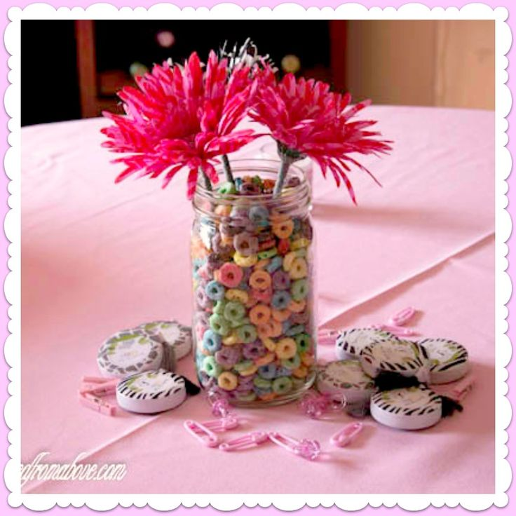 homemade sweet 16 centerpieces shower table decorations ideas for girls little baby