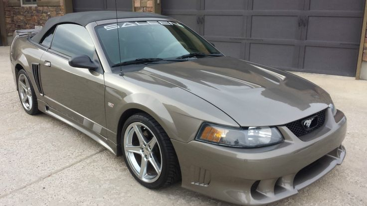 2002 Ford Mustang Saleen Convertible
