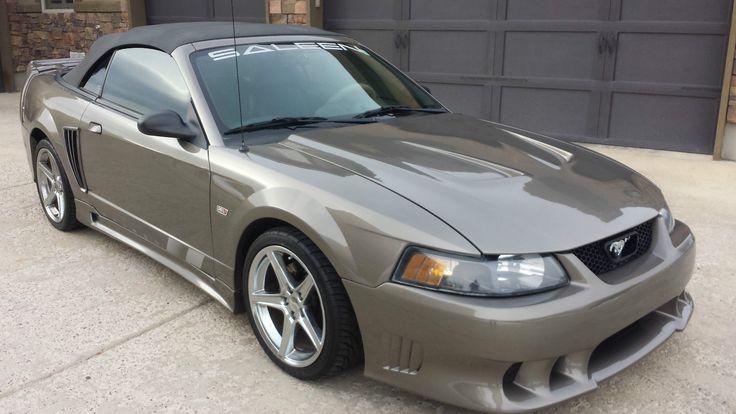 2002 Ford Mustang Saleen Convertible