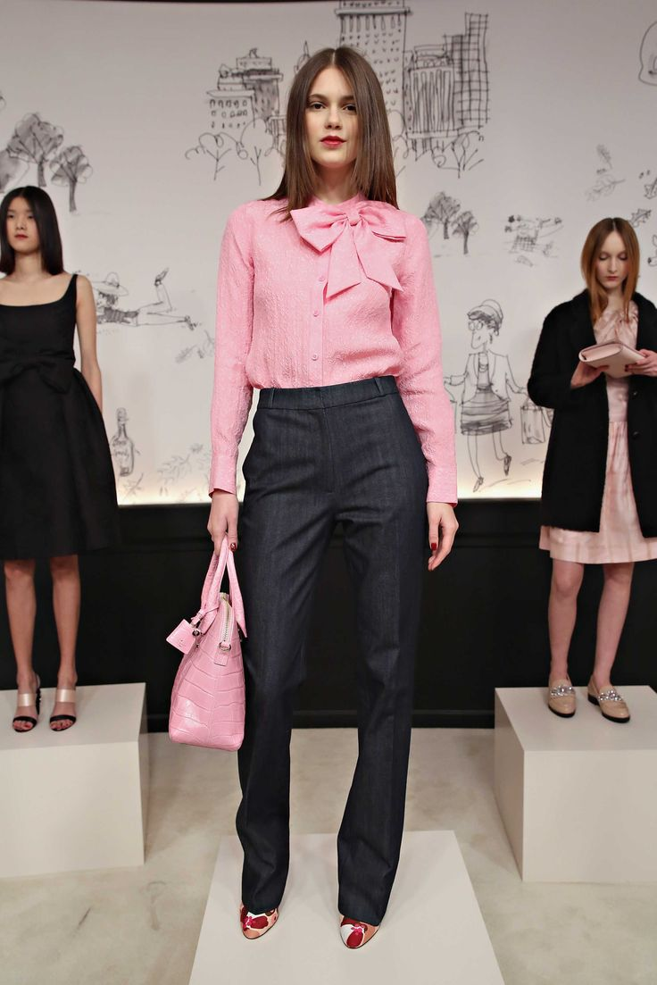 A look from the Kate Spade New York fall 2015 collection. Photo: Cindy Ord/Getty Images.