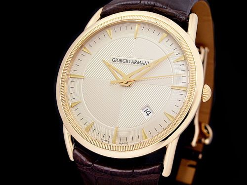 GIORGIO ARMANI roundwatch BORGO21 K18YG Men's Automatic Click to find out more -  http://menswomenswatches.com/giorgio-armani-roundwatch-borgo21-k18yg-mens-automatic-2/