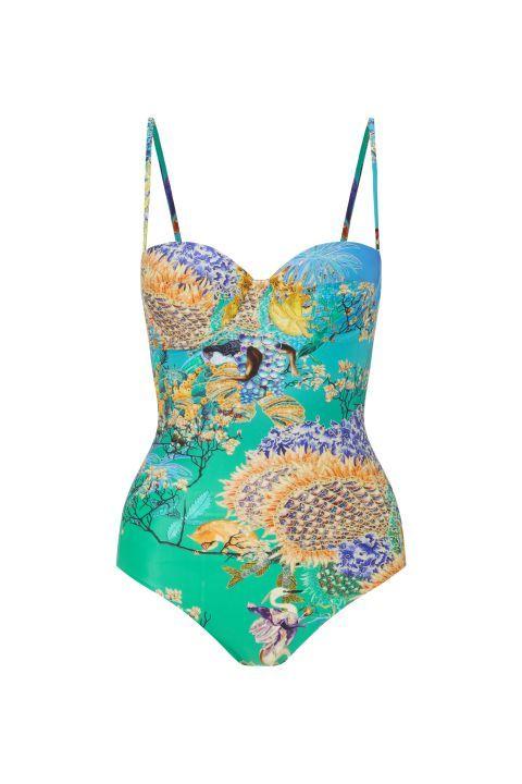 10 farbenfrohe, bedruckte Badeanzüge für diesen Sommer