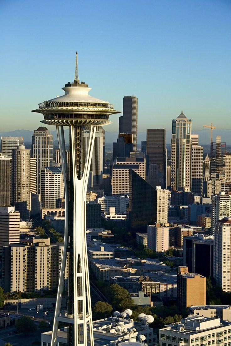 Seattleu0027s signature monument the Space Needle originally