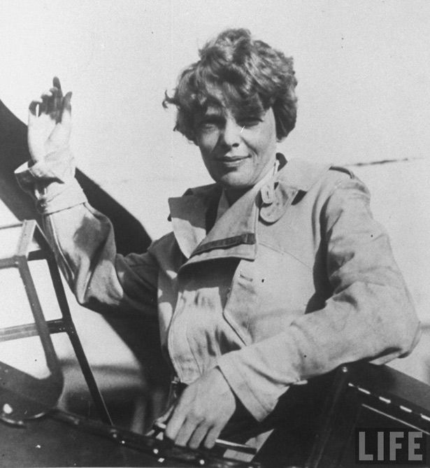 Struggles of pioneering pilot Amelia Earhart who wanted the world