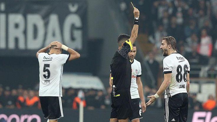 Türkiye Futbol Federasyonu Profesyonel Futbol Disiplin Kurulu, Beşiktaşlı futbolcu Caner Erkin'e 6 resmi müsabakadan men cezası verdi.