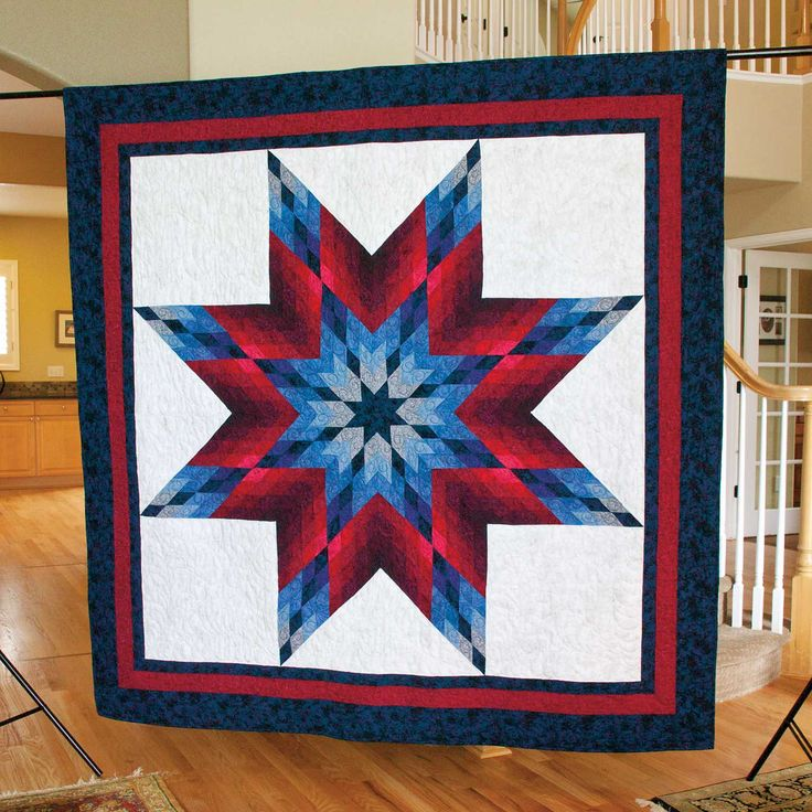 Lone Star Quilt Strip 6