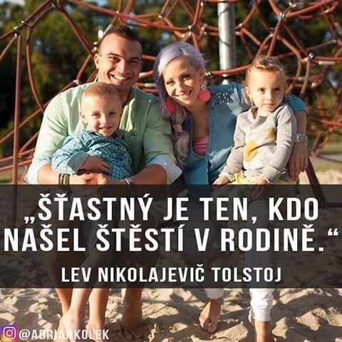 """""""Štastný je ten, kdo našel štěstí v rodině"""". #rodina #štěstí #úspěch #motivace #czech #slovak #family #happiness"""