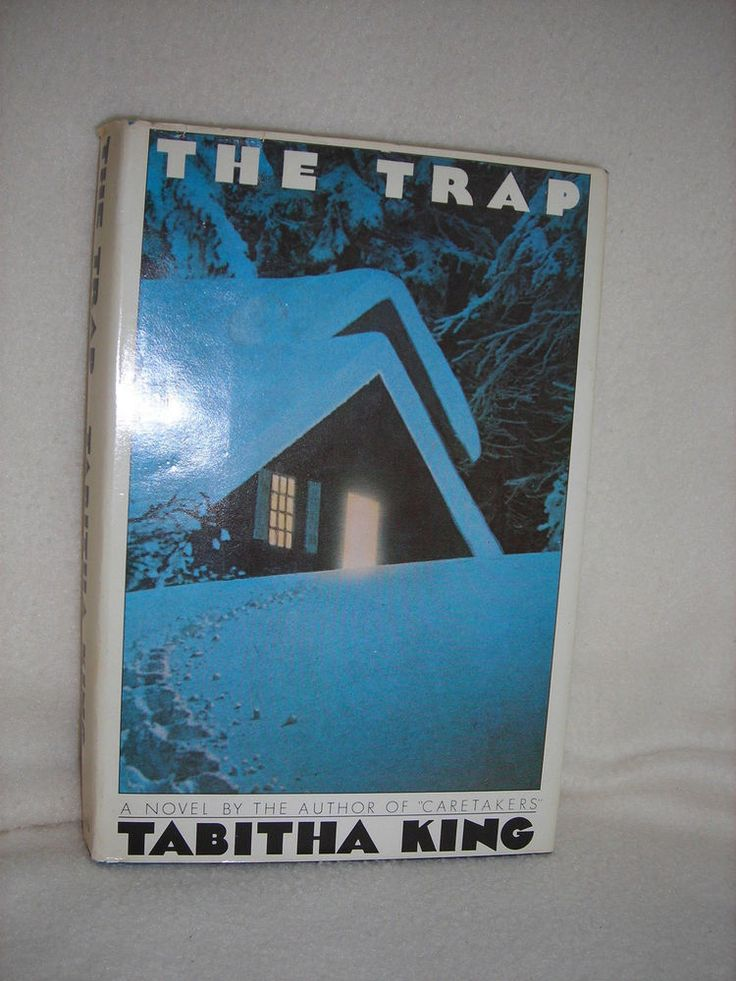The Trap by Tabitha King (1985, Hardcover)  Collectible Book Club Edition