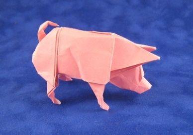 make origami pig