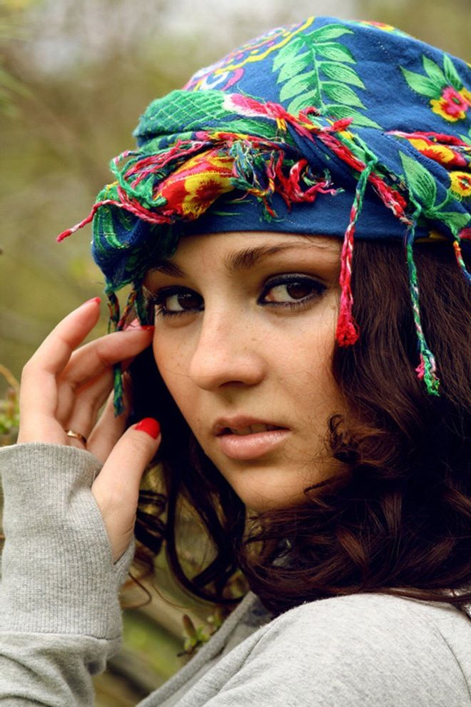 Gypsy Woman, Romania