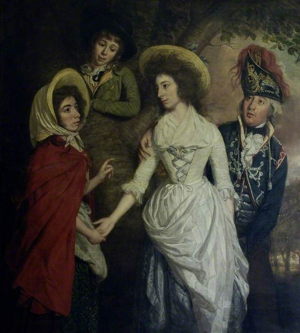 The Stapleton Family by Thomas Beach Date painted: 1789